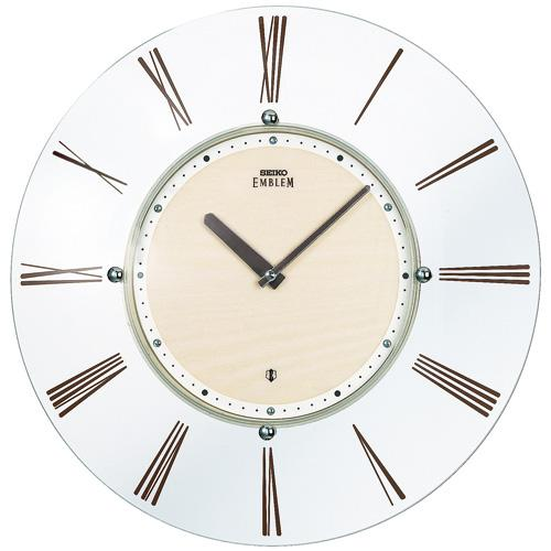 【SEIKO CLOCK EMBLEM】セイコー エムブレム スタイリッシュモダン 電波掛時計 HS529A