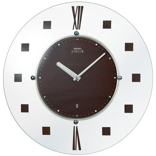 【正規品】セイコー エムブレム SEIKO CLOCK EMBLEM スタイリッシュモダン 電波掛時計 HS529B