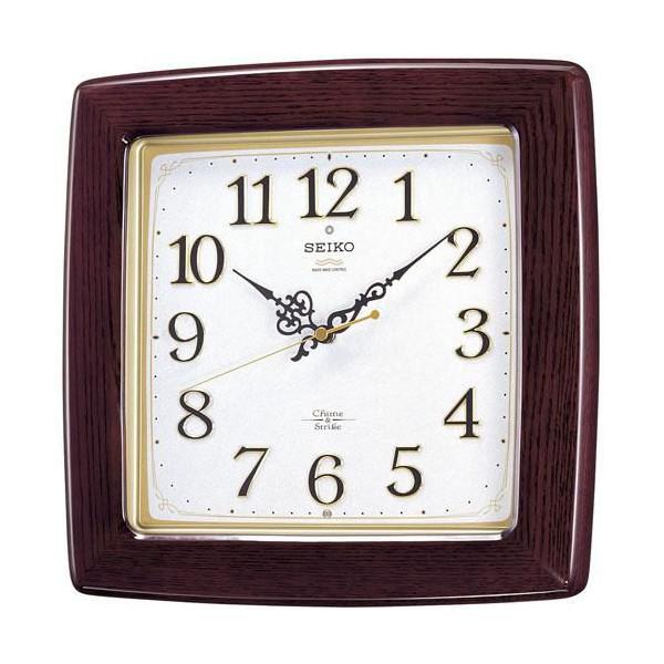【正規品】セイコー SEIKO CLOCK チャイム&ストライク 電波掛時計 RX211B