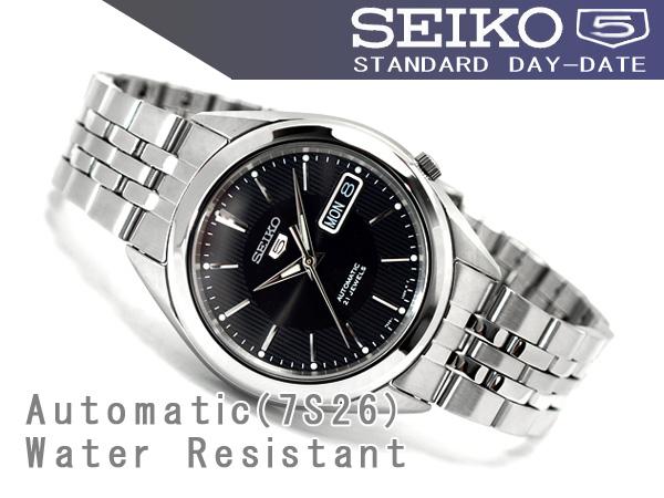 Seiko Specialty Store 3s Seiko 5 Mens Automatic Watch Black Dial