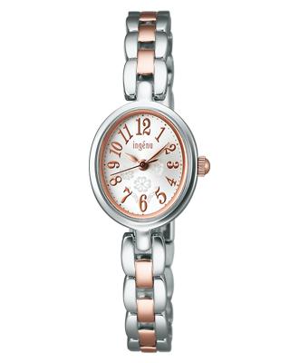 Seiko Alba Isabelle women's watch model oval silver AHJK401