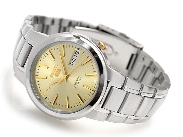 セイコーファイブ men's automatic self-winding watch SNKA03K1