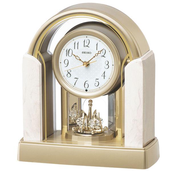 セイコークロック SEIKO CLOCK スタンダード アナログ 置時計 BY236G
