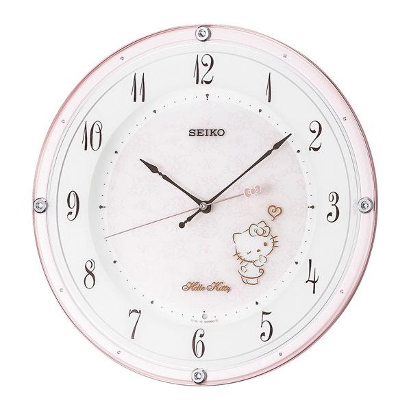 セイコークロック SEIKO CLOCK ハローキティハイライン 掛け時計 アナログ CS501P