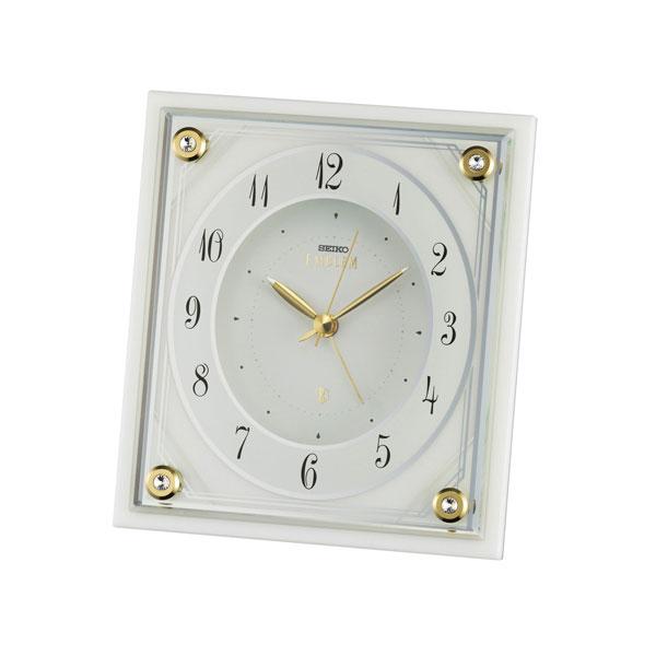セイコー クロック SEIKO CLOCK スタンダード 置時計 アナログ HR592W