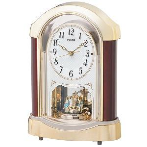 セイコークロック SEIKO CLOCK スタンダード 置き時計 BY237G ホワイト