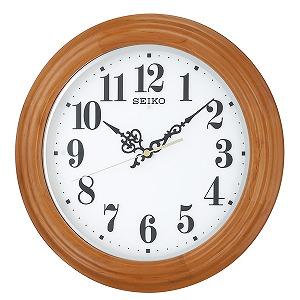セイコー クロック SEIKO CLOCK 夜でも見える 掛け時計 KX228A ホワイト