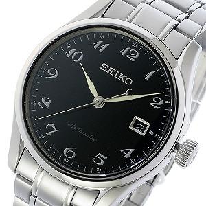 セイコー SEIKO プレサージュ PRESAGE 自動巻き メンズ 腕時計 SPB037J1 ブラック