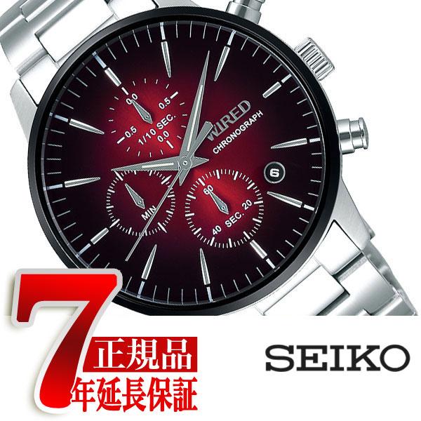 【SEIKO WIRED】セイコー ワイアード TOKYO SORA クオーツ クロノグラフ メンズ 腕時計 AGAT421【あす楽】