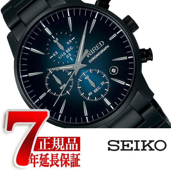 【SEIKO WIRED】セイコー ワイアード TOKYO SORA クオーツ クロノグラフ メンズ 腕時計 AGAT422