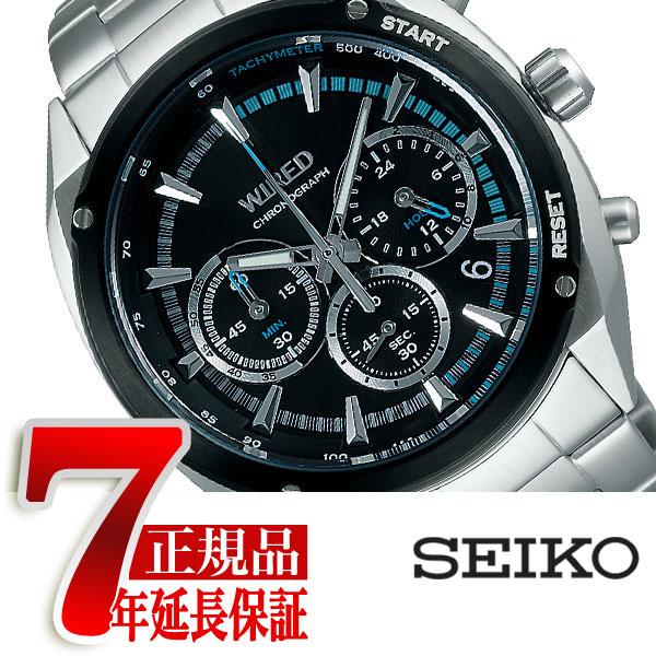 【7年保証】【正規品】セイコー ワイアード ソリディティ SEIKO WIRED SOLIDITY クロノグラフモデル メンズ 腕時計 AGAW443