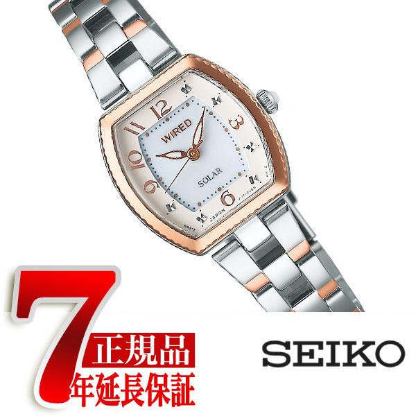 【7年保証】【正規品】セイコー ワイアード エフ SEIKO WIRED f 腕時計 レディース ソーラーコレクション SOLAR COLLECTION AGED090