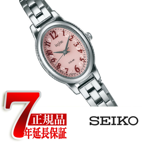 【SEIKO ALBA ingenu】セイコー アルバ アンジェーヌ ソーラー 腕時計 レディース AHJD082
