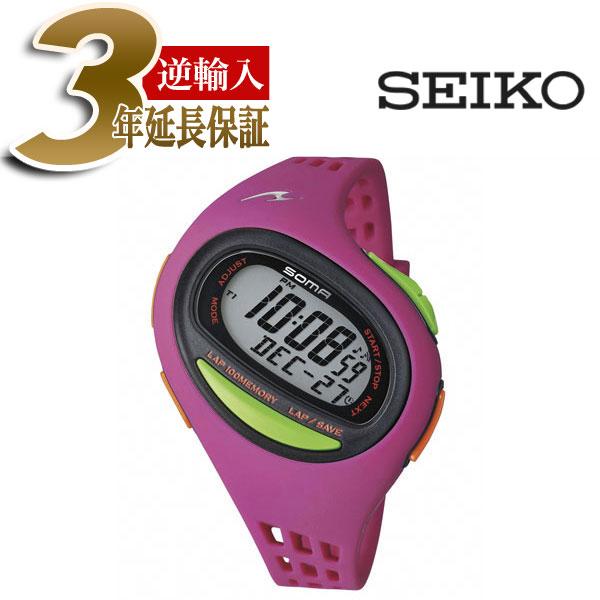 【正規品】ソーマ SOMA SEIKO セイコー RUNONE100SL ランワン100SL ミディアムサイズ デジタル 腕時計 DWJ09-0003