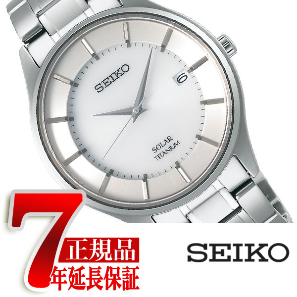 【SEIKO SELECTION】セイコー セレクション ソーラー メンズ 腕時計 ペアモデル シルバー SBPX101