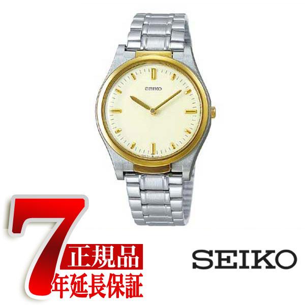 【SEIKO】 盲人時計 男性用 ホワイト SQBR014【ネコポス不可】