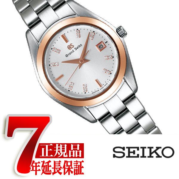 【母の日ギフト】【おまけ付き】【正規品】グランドセイコー GRAND SEIKO クオーツ 腕時計 レディース シルバーダイアル STGF274