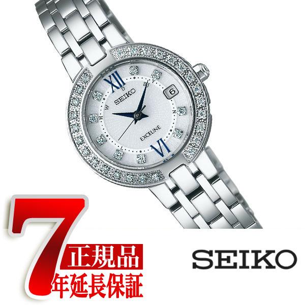 【母の日ギフト】【正規品】セイコー ドルチェ&エクセリーヌ SEIKO DOLCE&EXCELINE レディース腕時計 ソーラー電波時計 シルバー SWCW083