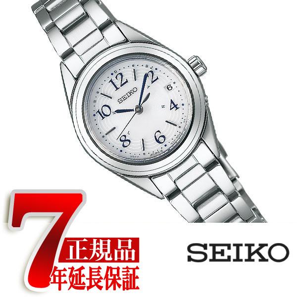 【母の日ギフト】【正規品】セイコー セレクション SEIKO SELECTION 電波 ソーラー 電波時計 レディース 腕時計 シルバー SWFH073