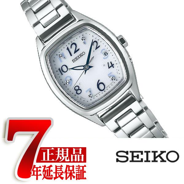【SEIKO SELECTION】セイコー セレクション 電波 ソーラー 電波時計 腕時計 レディース ホワイト SWFH083