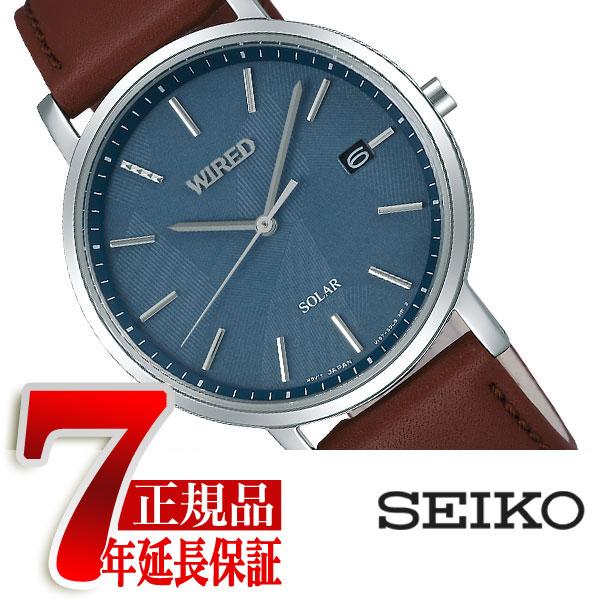 【SEIKO WIRED】セイコー ワイアード ペアスタイル ソーラー 腕時計 メンズ AGAD091【あす楽】