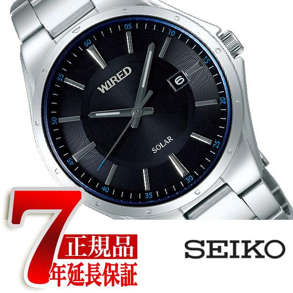 【SEIKO WIRED】セイコー ワイアード セイコー SEIKO ソーラー 腕時計 メンズ ニュースタンダード NEW STANDARD AGAD402