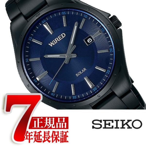 【SEIKO WIRED】セイコー ワイアード セイコー SEIKO ソーラー 腕時計 メンズ ニュースタンダード NEW STANDARD AGAD403