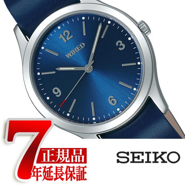 【正規品】セイコー ワイアード SEIKO WIRED 腕時計 buddyコラボモデル ユニセックス 替えベルト付き ブルー AGAK705