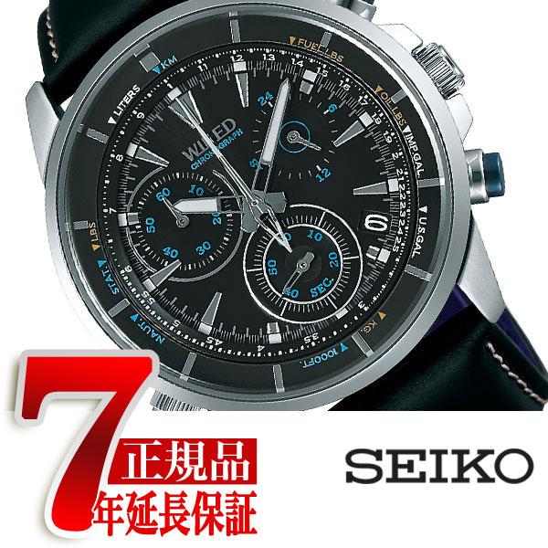 【SEIKO WIRED】セイコー ワイアード セイコー SEIKO 腕時計 メンズ ザ・ブルー THE BLUE クロノグラフ AGAW448