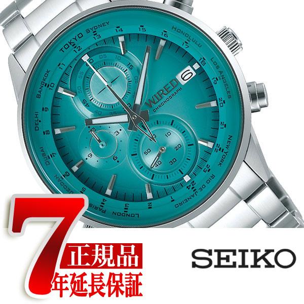 【SEIKO WIRED】セイコー ワイアード TOKYO SORA クオーツ クロノグラフ メンズ 腕時計 AGAW451