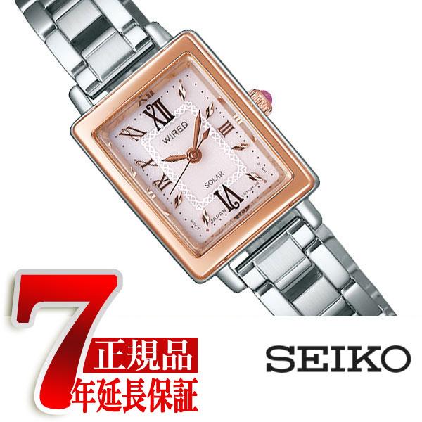 【SEIKO WIRED f】セイコー ワイアード エフ クールヴィンテージ ソーラー レディース 腕時計 AGED100