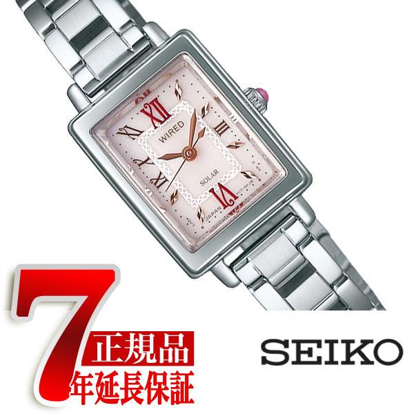 【正規品】セイコー ワイアード エフ SEIKO WIRED f クールヴィンテージ ソーラー レディース 腕時計 AGED102