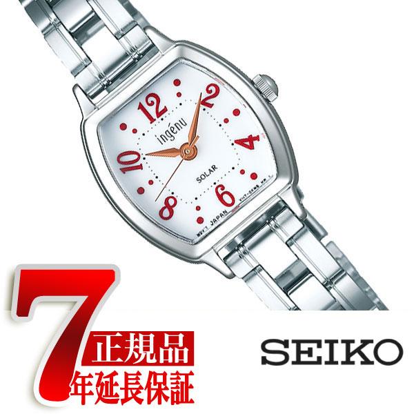 【正規品】セイコー アルバ アンジェーヌ SEIKO ALBA ingenu ソーラー 腕時計 レディース ホワイト AHJD106