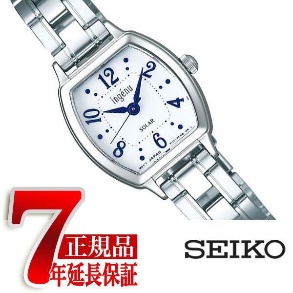 【SEIKO ALBA ingenu】セイコー アルバ アンジェーヌ ソーラー 腕時計 レディース ホワイト AHJD107