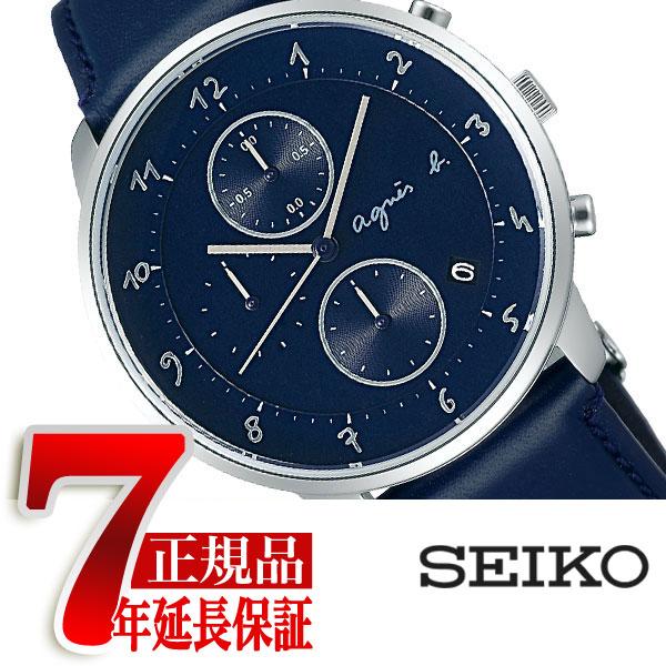 【agnes b.】アニエスベー 腕時計 メンズ レディース クロノグラフ マルチェロ Marcello FBRW990