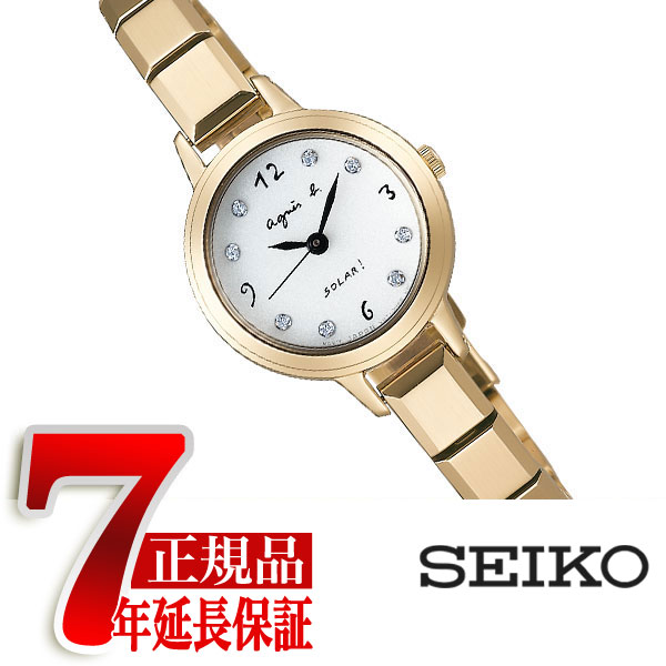 【正規品】アニエスベー agnes b. ソーラー 腕時計 レディース マルチェロ Marcello FBSD949