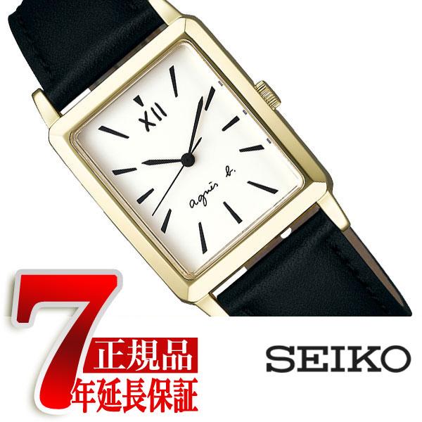 【agnes b.】アニエスベー マルチェロ!シリーズ レクタングル クオーツ ペアモデル メンズ 腕時計 FCRK992