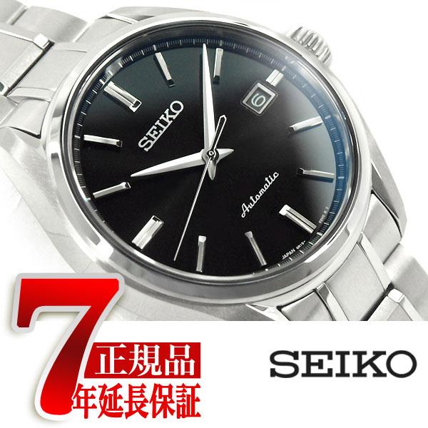 【おまけ付き】【正規品】セイコー プレザージュ SEIKO PRESAGE プレステージライン メンズ 腕時計 メカニカル 自動巻き 機械式 自動巻き メカニカル 腕時計 メンズ ブラック SARX035
