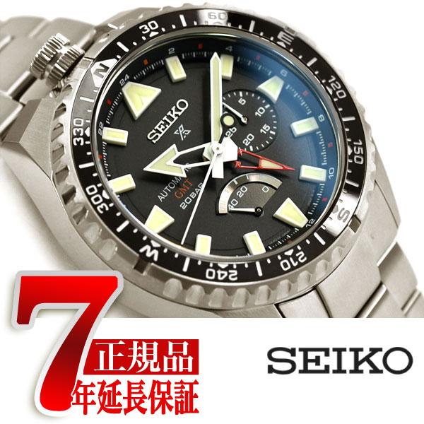 【おまけ付き】【SEIKO PROSPEX】セイコー プロスペックス ランドマスター LANDMASTER 自動巻き 手巻き付き メカニカル 腕時計 メンズ コンフォテックスチタン SBEJ001