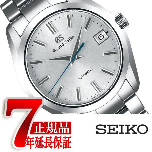 【おまけ付き】【正規品】グランドセイコー GRAND SEIKO 9S メカニカル 自動巻き 腕時計 メンズ シルバー SBGR307