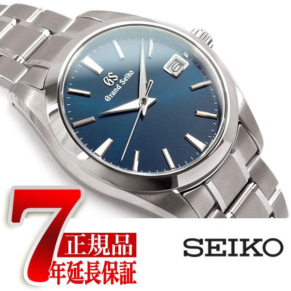 【おまけ付き】【GRAND SEIKO】グランドセイコー 9F クオーツ メンズ 腕時計 チタン グリーン SBGV233【あす楽】