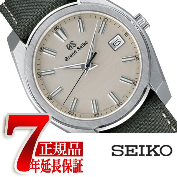 【おまけ付き】【正規品】グランドセイコー GRAND SEIKO タフGS 9Fクオーツ 40mm メンズ 腕時計 グレー 腕時計 グレー SBGV245【あす楽】
