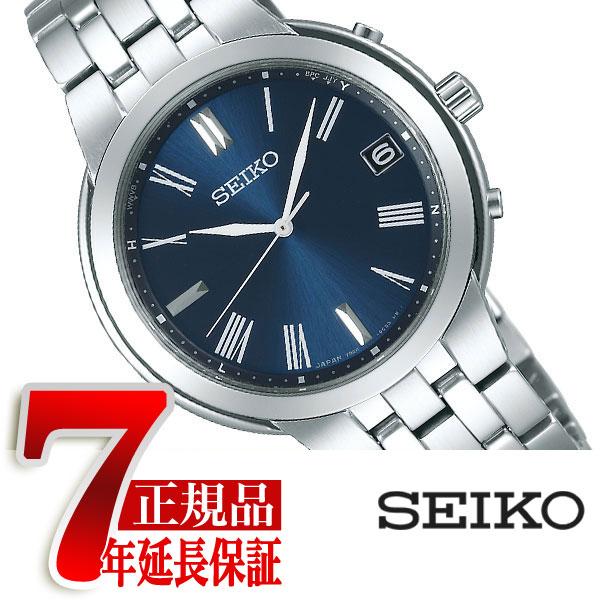 【SEIKO SELECTION】セイコー セレクション 電波 ソーラー 電波時計 腕時計 ペアモデル メンズ SBTM265