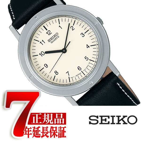 【SEIKO SELECTION】セイコー セレクション ナノユニバースコラボ nano.uniberse 限定モデル シャリオ ミニマル クオーツ ペアモデル レディース 腕時計 ベージュ ダイアル SCXP117