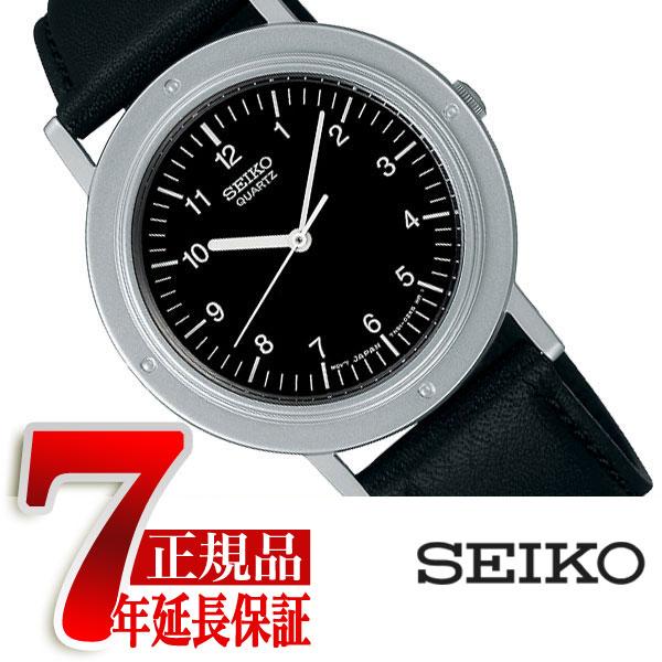 【SEIKO SELECTION】セイコー セレクション ナノユニバースコラボ nano.uniberse 限定モデル シャリオ ミニマル クオーツ ペアモデル レディース 腕時計 ブラック ダイアル SCXP119
