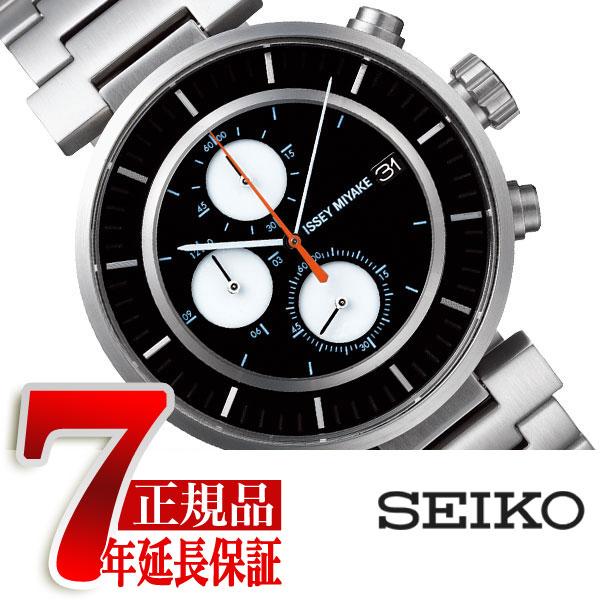 【ISSEY MIYAKE】イッセイミヤケ 腕時計 メンズ W ダブリュ クロノグラフ 和田智デザイン SILAY001