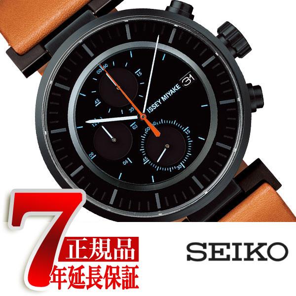 【正規品】イッセイミヤケ ISSEY MIYAKE 腕時計 メンズ W ダブリュ クロノグラフ 和田智デザイン SILAY006