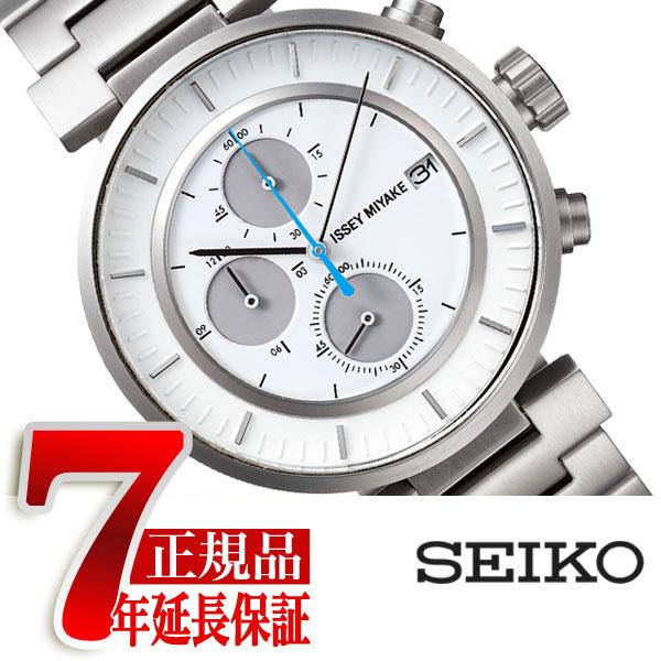 【正規品】イッセイミヤケ ISSEY MIYAKE 腕時計 メンズ W ダブリュ クロノグラフ 和田智デザイン SILAY007