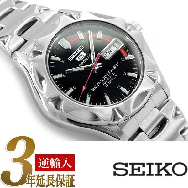 【逆輸入SEIKO】セイコー セイコー5 スポーツ 5 SPORTS 日本製 自動巻き 腕時計 SNZ449J1