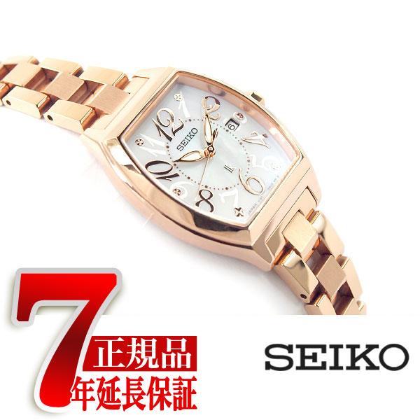 【SEIKO LUKIA】セイコー ルキア ソーラー 腕時計 レディース シェル SSVN028